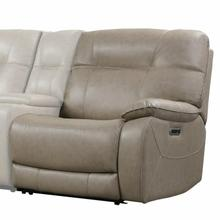 View Product - AXEL - PARCHMENT Power Right Arm Facing Recliner