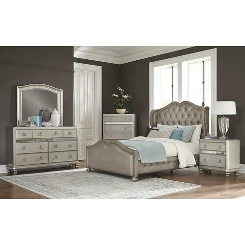 4 PC Queen Bed Set
