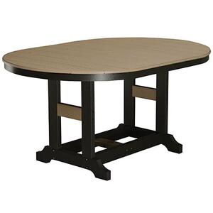 "44"" x 64"" Oblong Counter Table"