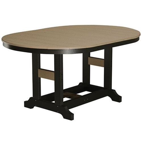 "44"" x 64"" Oblong Bar Table"