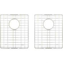 See Details - Stainless Steel Bottom Grids for Handmade 50/50 Double Bowl Sink (HMS250)