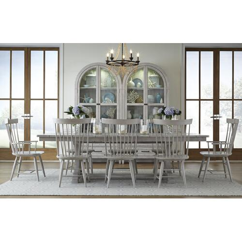 Belhaven Complete Trestle Table