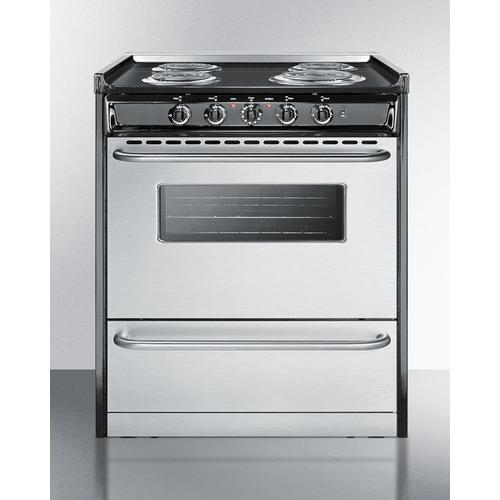 """Summit - 30"""" Wide Electric Coil Range"""