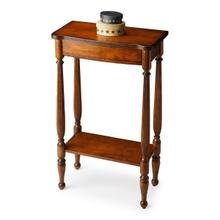 See Details - Selected solid woods, wood products and choice veneers. Cherry veneer top, aprons, and lower display shelf.