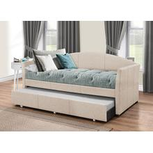 View Product - Westchester Daybed W/ Trundle- Fog Fabric