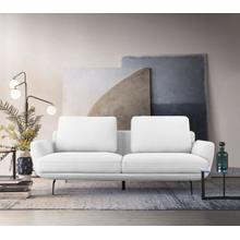 View Product - Divani Casa Dolly - Modern Off White Loveseat