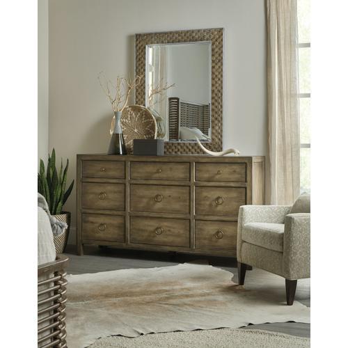 Bedroom Sundance Nine-Drawer Dresser