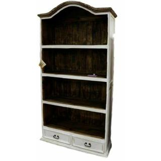 See Details - Weathered White Bookcase