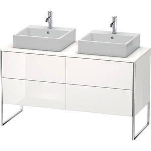 Vanity Unit For Console Floorstanding, White High Gloss (decor)