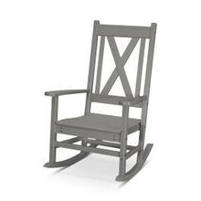 View Product - Braxton Porch Rocking Chair in Slate Grey