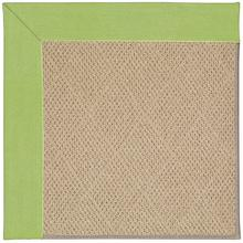 Creative Concepts-Cane Wicker Canvas Parrot Machine Tufted Rugs