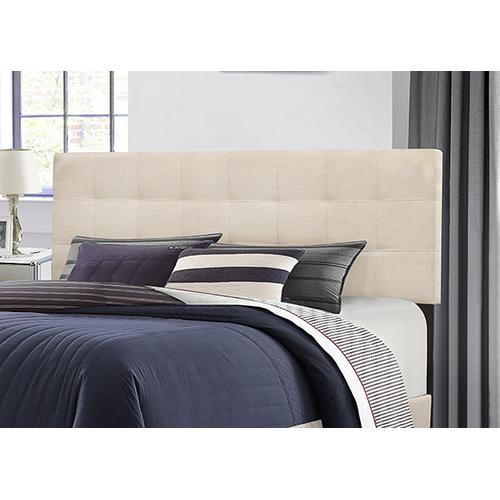 Delaney King Upholstered Headboard, Linen