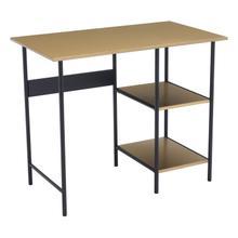 See Details - Harris Desk Brass & Black