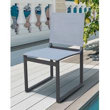 View Product - Renava Kayak - Modern Outdoor Dark Charcoal Dining Chair (Set of 2)