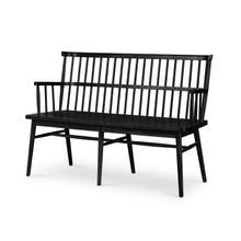Aspen Bench-black