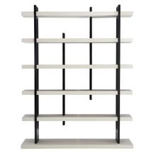Silhouette Etagere in Onyx (307), Eggshell (307)