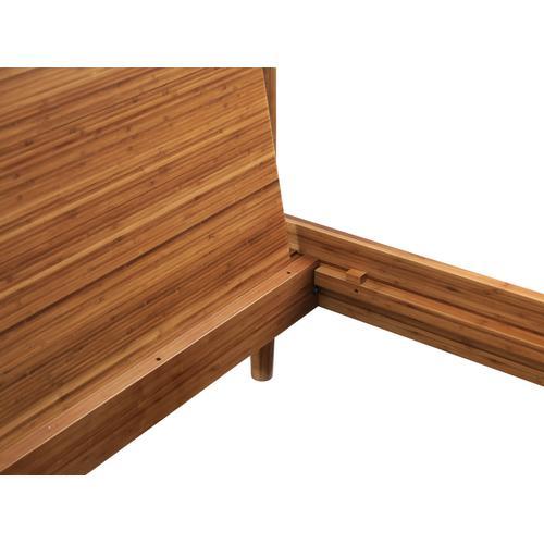 Greenington Fine Bamboo Furniture - Monterey Queen Platform Bed, Amber
