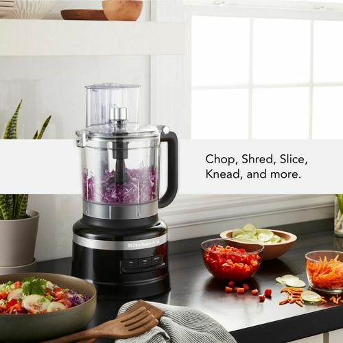 Gallery - 13-Cup Food Processor with Dicing Kit - Onyx Black