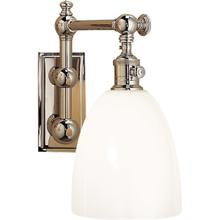 E. F. Chapman Pimlico 1 Light 6 inch Polished Nickel Single Sconce Wall Light