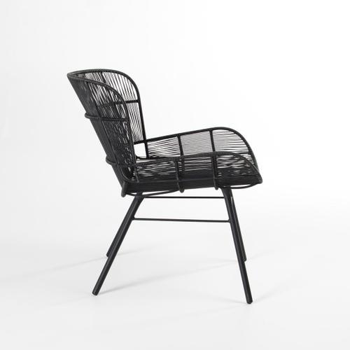 Classic Home - Irwin Lounge Chair Black