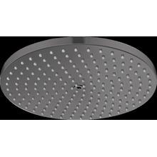 Brushed Black Chrome Showerhead 240 1-Jet PowderRain, 2.5 GPM