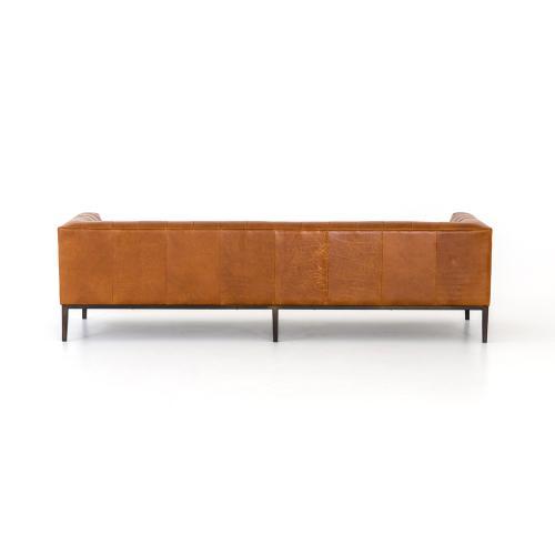 Manhattan Sycamore Cover Marlin Leather Sofa