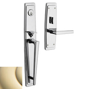 Lifetime Polished Brass Palm Springs Full Escutcheon Product Image