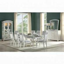 ACME Maverick Dining Table - 61800 - Platinum