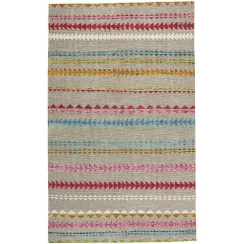 "Viking Stripe Driftwood Multi - Rectangle - 3'6"" x 5'6"""