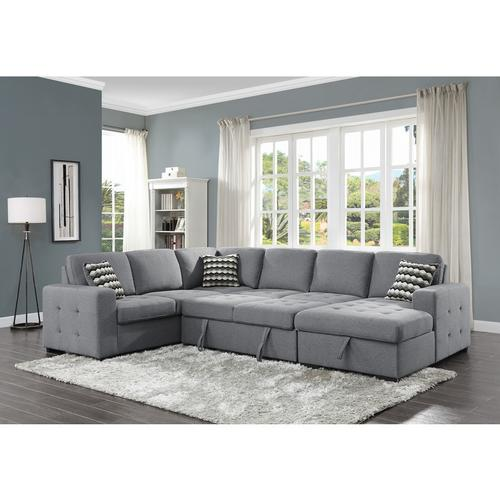 Gallery - Right Side Chaise with Hidden Storage