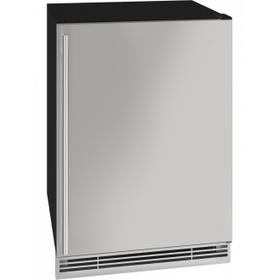 "24"" Beverage Center With Stainless Solid Finish (115 V/60 Hz Volts /60 Hz Hz)"