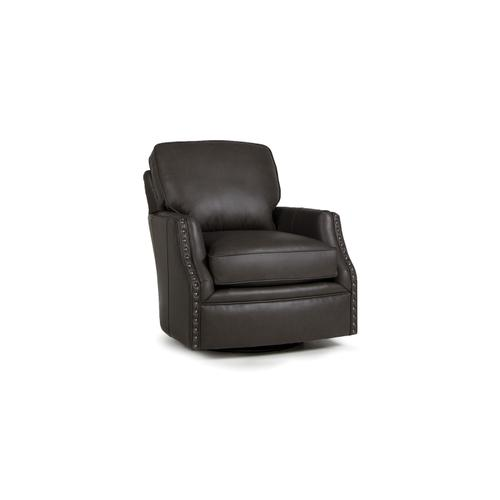 Smith Brothers Furniture - Leather Swivel Chair