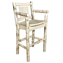 Montana Collection Captains Barstool with Back