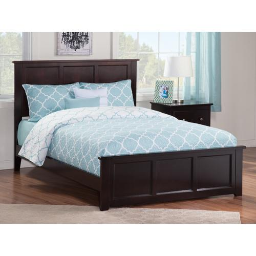 Atlantic Furniture - Madison Full Bed with Matching Foot Board in Espresso