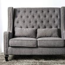 See Details - Alicante Love Seat Bench, Gray