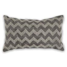 "See Details - Pillow L325 Grey Chevron 12"" X 20"""