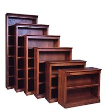 See Details - Forest Designs Mission Bookcase: 36W X 48H X 13D (One Bookcase) - 48h