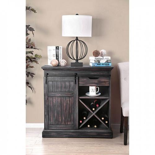 Furniture of America - Mandy Wine Cabinet