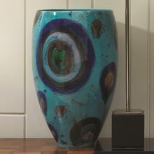 View Product - Blue Spots Vase