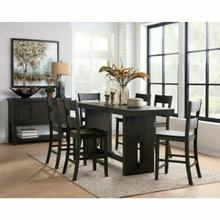 ACME Haddie Counter Height Table - 72220 - Distressed Walnut