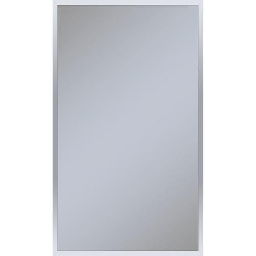 "Profiles 23-1/8"" X 39-1/4"" X 3/4"" Framed Mirror In Chrome"
