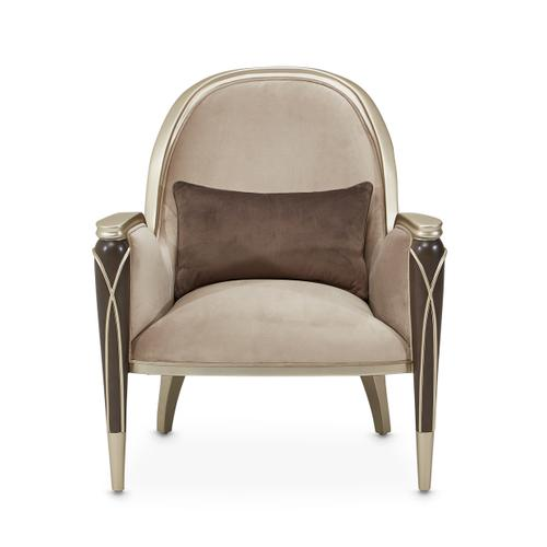 Villacherie Accent Chair Porcini Hazelnut