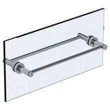 "Loft 2.0 18"" Double Shower Door Pull / Glass Mount Towel Bar"
