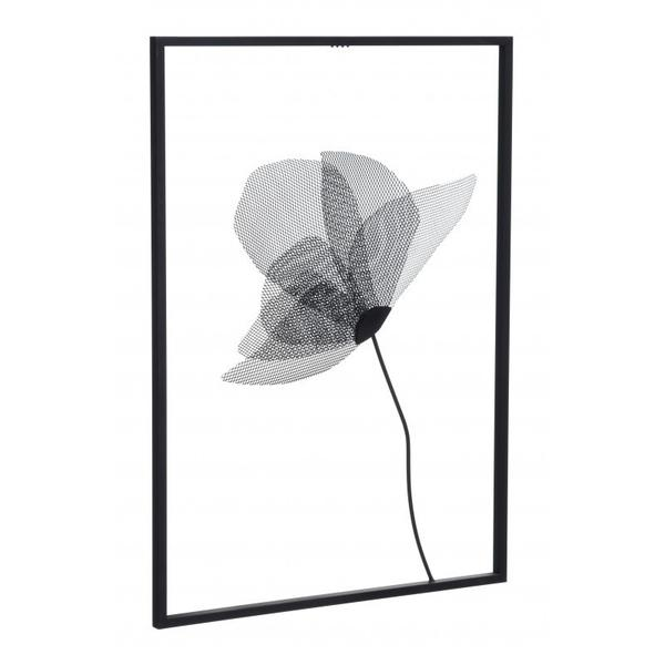 Springbook Wall Decor Matte Black