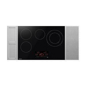 "30"" Drop-In Radiant Cooktop with Side Accessories Product Image"