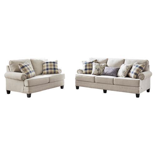 Benchcraft - Meggett Sofa Linen