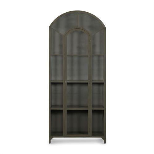 Gunmetal Finish Belmont Metal Cabinet