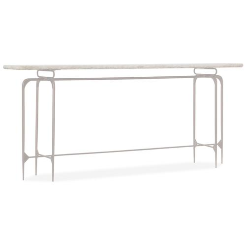 Living Room Skinny Metal Console
