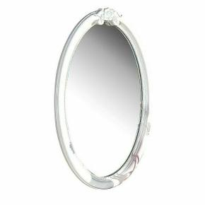 ACME Flora Oval Mirror - 01684 - White