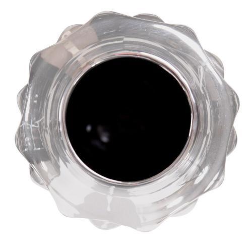 Howard Elliott - Hammered Metallic Silver Ceramic Vase, Medium